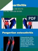 Osteoartritis persentasi Ujian