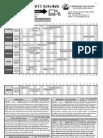 2015 Winter-Spring Class Schedule Dec18