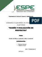 Análisis Del Macroambiente y Microambiente Paucar y Tovar