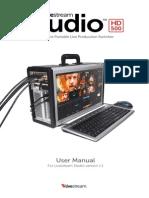 Livestream Studio Hd500 Guide 1 1