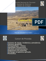 Cancer de Próstata.clase 2014 Ppt