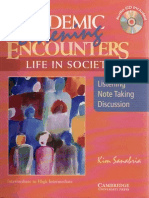 Academic Listening Encounters - Life in Society