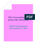 The Genealogy of Jesus the Messiah