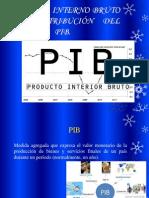 Producto Interno Bruto (Pib) Distribución Del