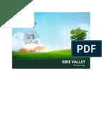 Siri Valley Brochure