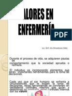 VALORES EN ENFERMERIA 2014.ppt