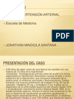 CASO CLINICO de Hipertension