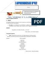 Guia de Aprendizaje Verso y Prosa.