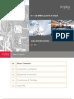 Iimjobs IT ITES BPM Sector April 2014