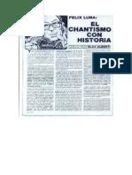 """Alberti Blas - Artículo en Revista """"El Brulote"""", circa 1986"""