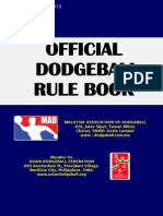 Rules and Regulation for dodgeball