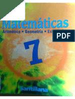 Nuevas Matematicas 7 Santillana