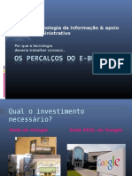 Os Percalcos Do Ebusiness