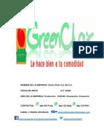Empresa Green Chair s.a. de c.V.