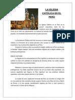 La Iglesia Católica en el Perú