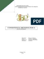 Est. 2.3.2 Consistencia Metodológica