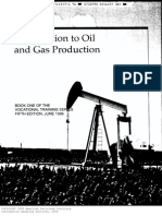 API Introduction to Oil and Gas Production