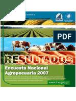 Encuesta Nacional Agrícola 2007 Guatemala