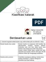Klasifikasi katarak