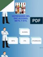 Depresores Del Snc Alcohol
