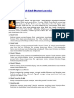 Mengenal Kitab Deuterokanonika