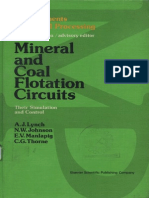 Mineral and coal flotation circuits