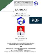 Laporan Praktikum Komunikasi Data 1 - Reza Maliki Akbar - Teknik Otomasi Manufaktur dan Mekatronika Politeknik Manufaktur Negeri Bandung