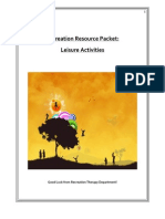 recreation resource packet 1