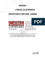 Manual Para Emissão de Nota Fiscal