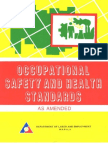 Occupational Safety and Health Standards[1]