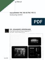 Operating Manual TNC 150