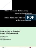 Sreenivas Narayanan-Preparing Youth for Green Jobs Through Skills Development