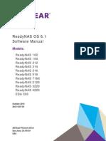 Readynas 6.1 Software manual