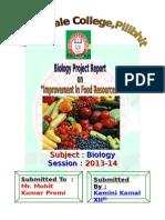 Improvement in Fodd Resources
