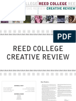 2010 Reed College Creative Review