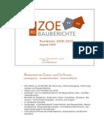 2008 IIBW. ZOE Bauberichte. Rumaenien