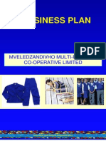 Mveledzandivho Co-operative Business Plan Final