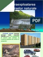Supraexplotoarea resurselor naturale