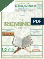 The Reminder (Muharram 1436)
