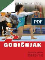 Godišnjak HRvatskog školskog sportskog saveza za školsku godinu 2013./2014.