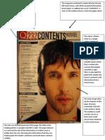 Contents Page Deconstruction
