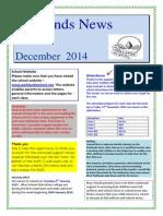 Parklands Newsletter December 2014