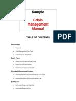 Documents Crisismanagementmanual