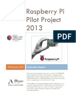 DCAL Evaluation Report Raspberry Pi Project