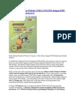 Panduan Membuat Website TOKO ONLINE Dengan PHP