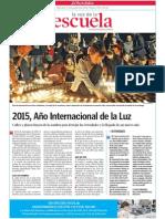 2015.Año Internacional de la Luz.LVE.17.12.2014