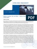 Balance zwischen Ost und West – Serbien übernimmt den OSZE-Vorsitz 2015