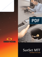 Sunrise Telecom SunSet MTT Modular Test Toolkit Data Sheet