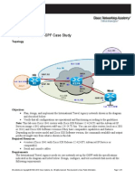 CCNP ROUTE OSPF 3.7 Case Study