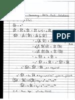 MAT1801 January 2014 Past Paper Full Solutions